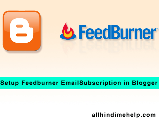 Feedburner Kya Hai | Blogger Me Kaise Add Kare Step by Step