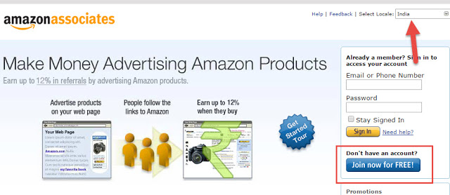 Amazon Affiliate Program Par Account Kaise BanayeAmazon Affiliate Program Par Account Kaise Banaye