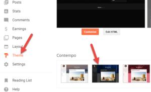 blogger theme design tutorial