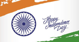 Indian Independence Day greeting card