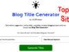 Top 10 Best Free Blog Title Generator Tools in Hindi