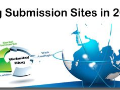 Top 10 Blog Submission Sites in 2019
