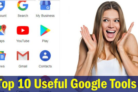 Top 10 Best Free And Useful Google Tools in Hindi