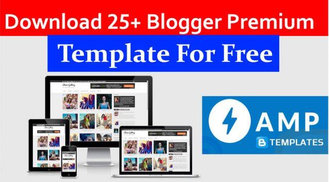 25 Free PremiumBlogger Template Download Kare